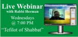 Rabbi Herman's Webinar